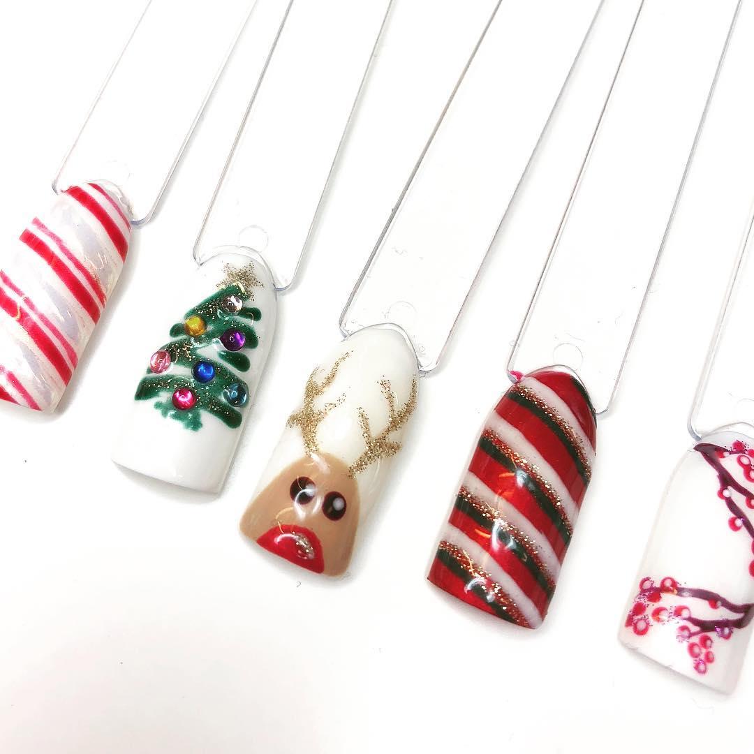 Nageldesign Weihnachten - Ideen und Inspirationen