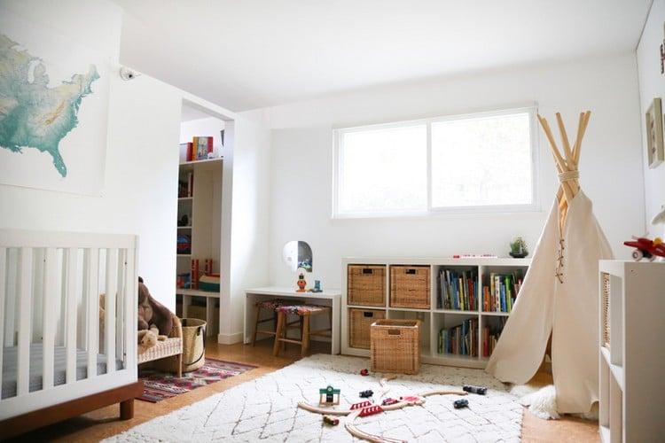 Tipi nähen Spielzelt für das Kinderzimmer