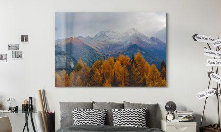 Fotoleinwand für eine moderne Wohnung