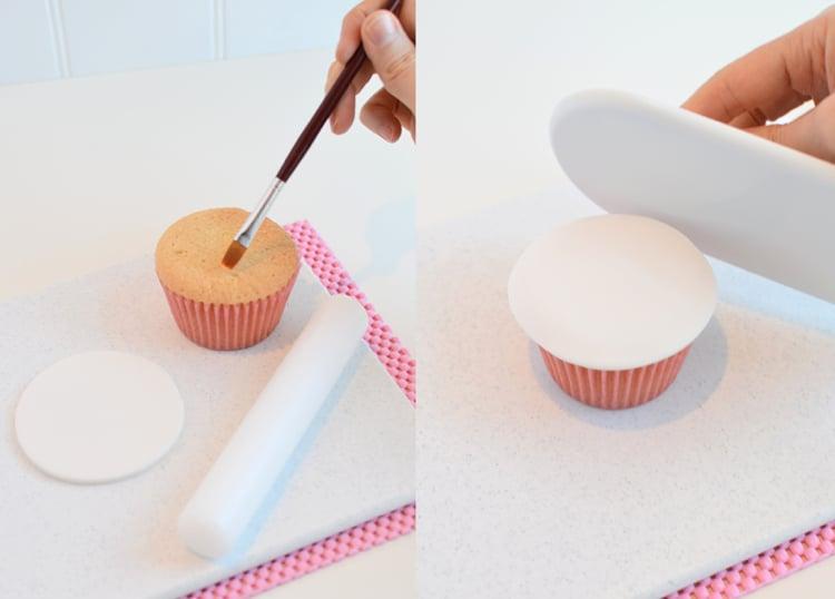 Einhorn Muffins dekorieren Fondant Ideen und Tipps