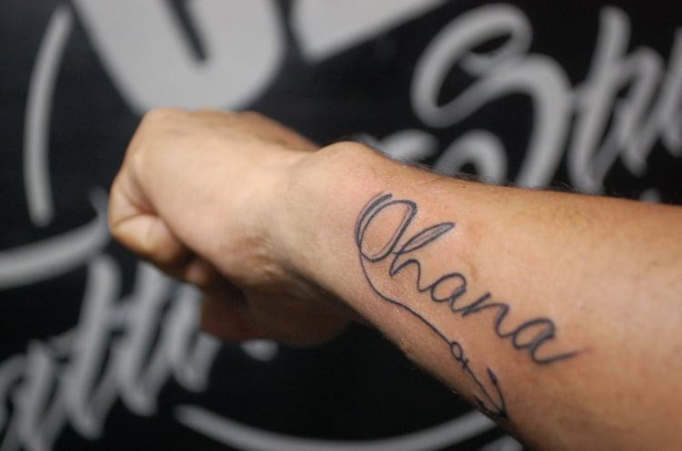 Ohana Tattoo Mann Anker