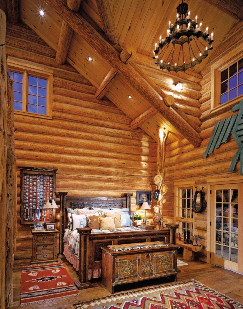 Chalet Schlafzimmer gemütliches Ambiente