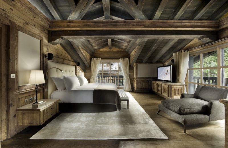 Chalet Schlafzimmer selber einrichten