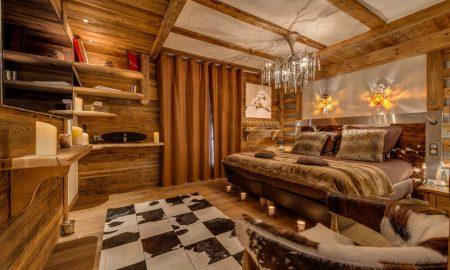 Chalet Schlafzimmer prachtvoll eingerichtet