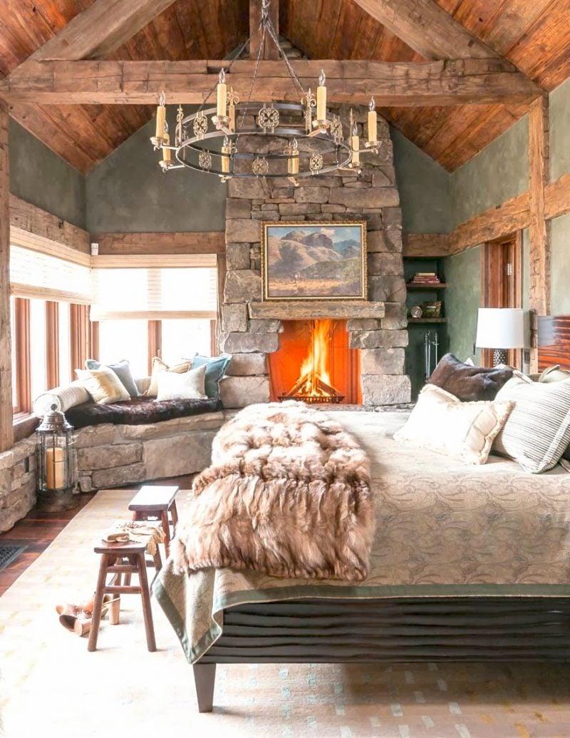 Chalet Schlafzimmer einladendes Ambiente