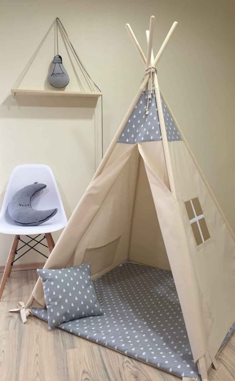 Tipi nähen Kinderzimmer inspirierende Ideen