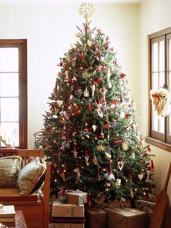 weihnachtsbaum schm cken tipps und ideen f r zauberhafte deko. Black Bedroom Furniture Sets. Home Design Ideas