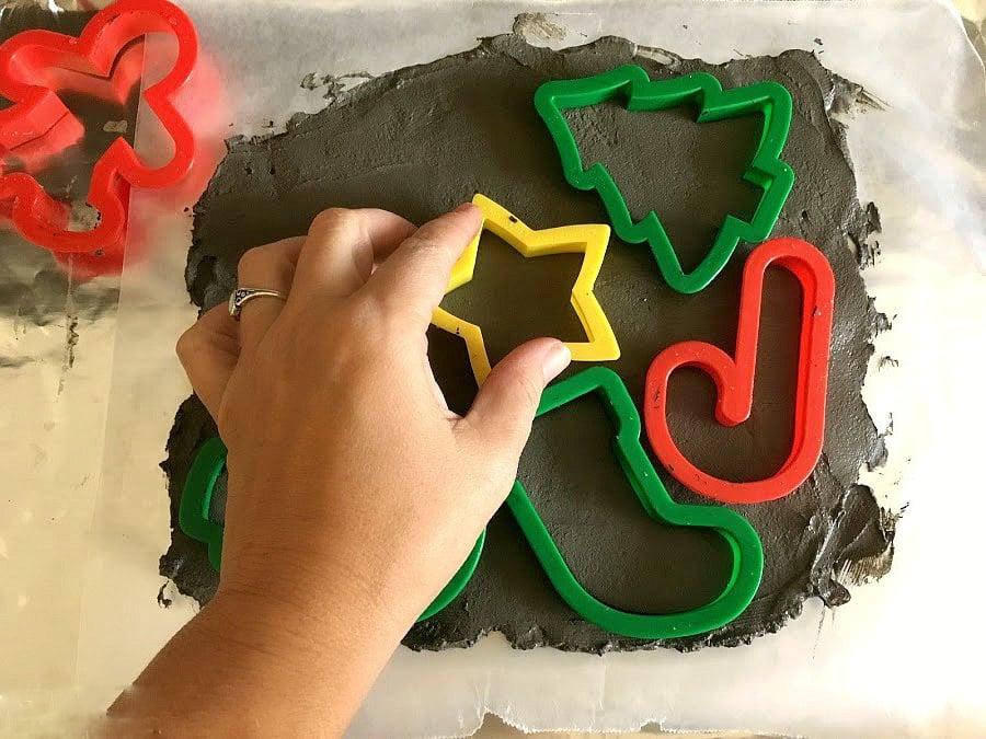 DIY Beton Weihnachtsdeko selber machen - Anleitung zum Nachmachen