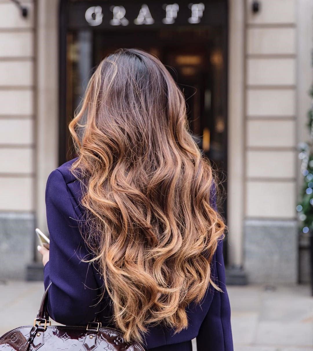 Blond Ombre oder das neue Palm Painting Haare Trend