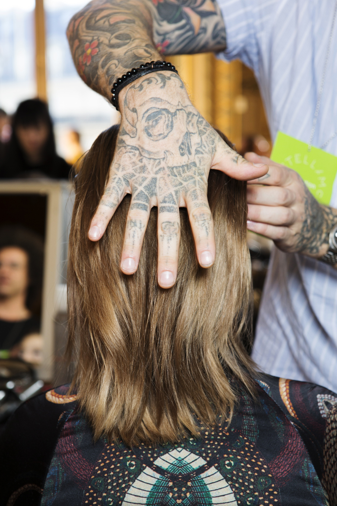 Balayage selber machen - Palm Painting Haare