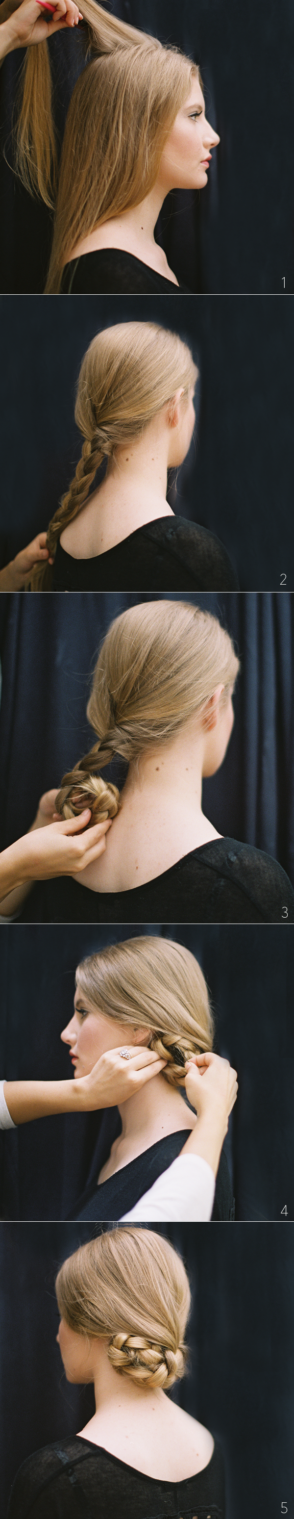 Silvester Frisuren selber machen