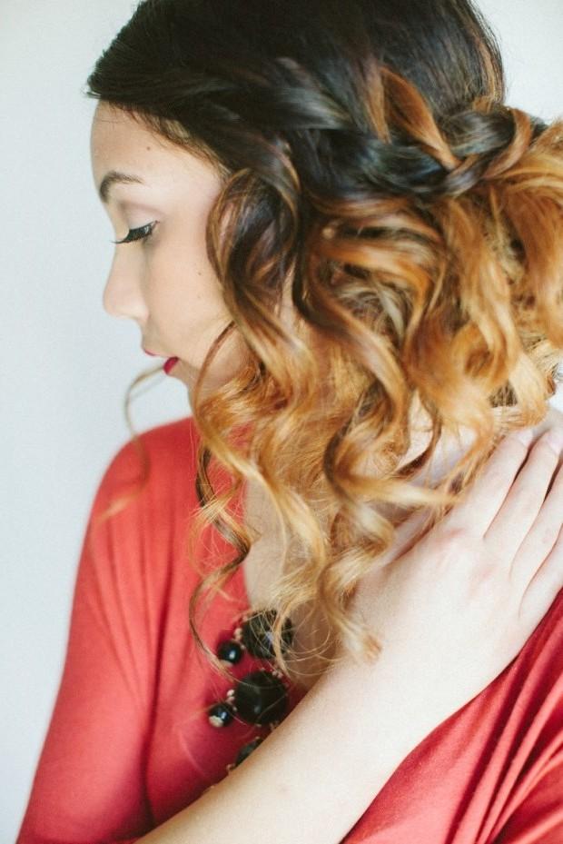 Silvester Frisuren mit Locken zum Selbermachen