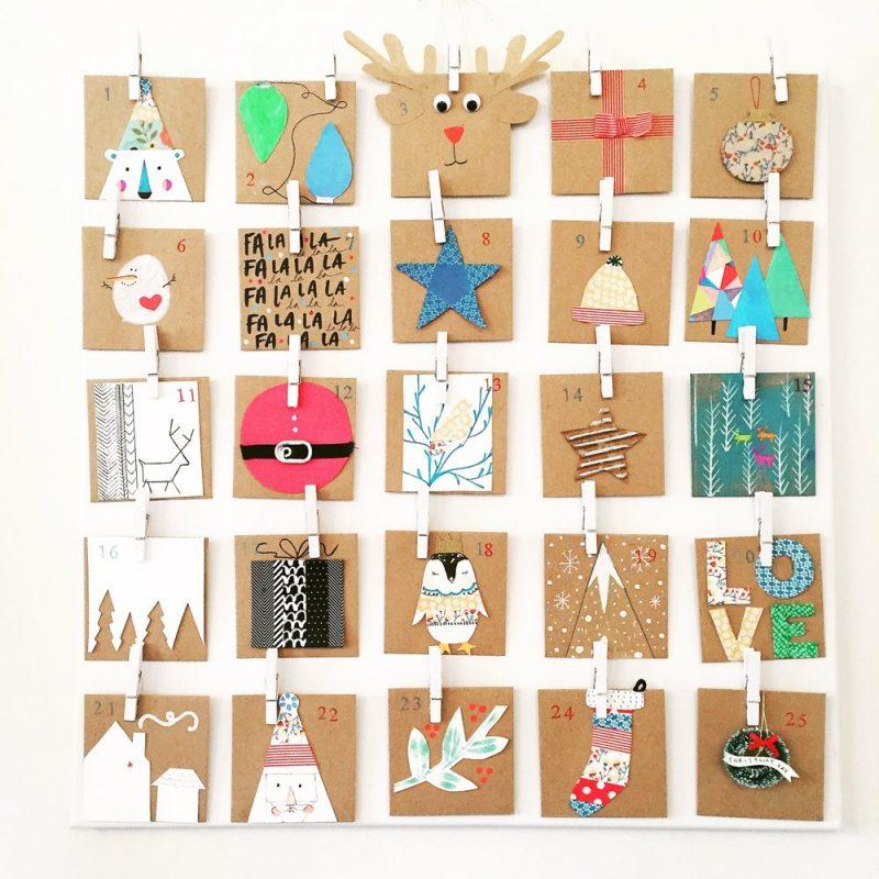 Adventskalender für Erwachsene Karten Sprüche Glückwünsche