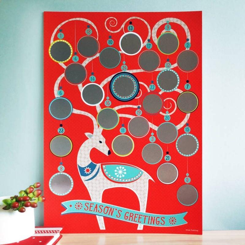 Ideen für Adventskalender mit Karton basteln