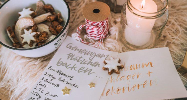 Adventskalender für Erwachsene Rezepte teilen