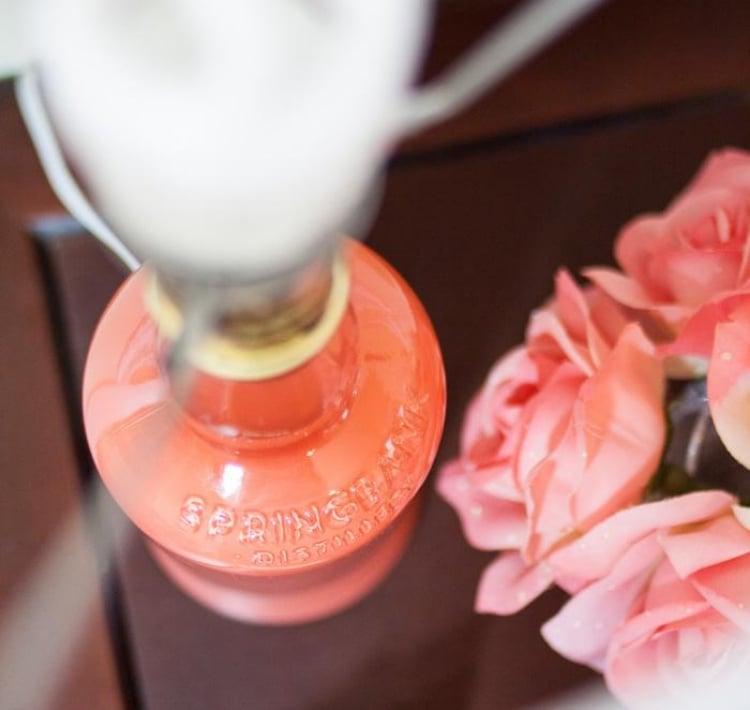 Lampe aus Flaschen originelle Stehlampe