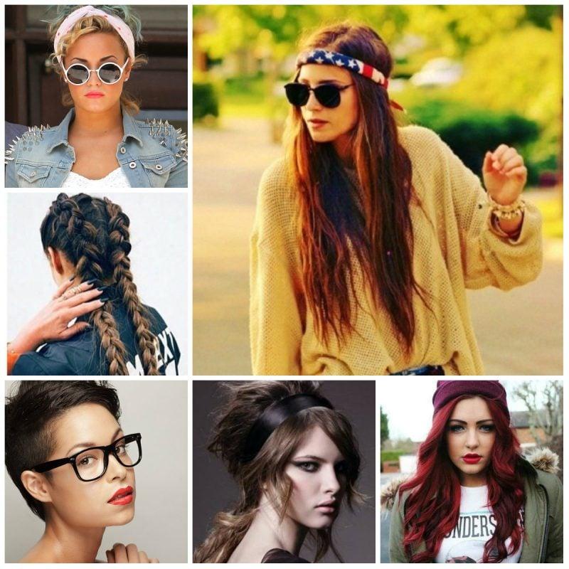 Hipster Frisur für Damen