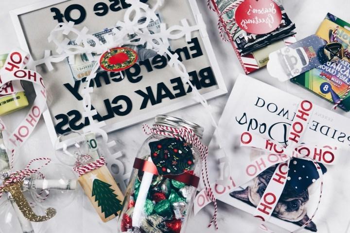 Geld weihnachtlich verpacken für Notsituationen. Überraschen Sie Ihre Freunde!