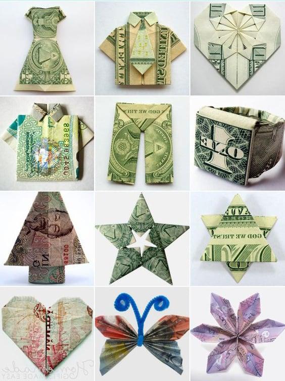 Geld für Weihnachten falten? Hier finden Sie viele interessante Ideen und Inspirationen