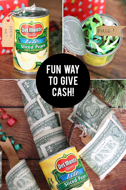 Geld für Weihnachten falten ist ein lustiges Geschenk und macht auch Spaß beim Basteln.