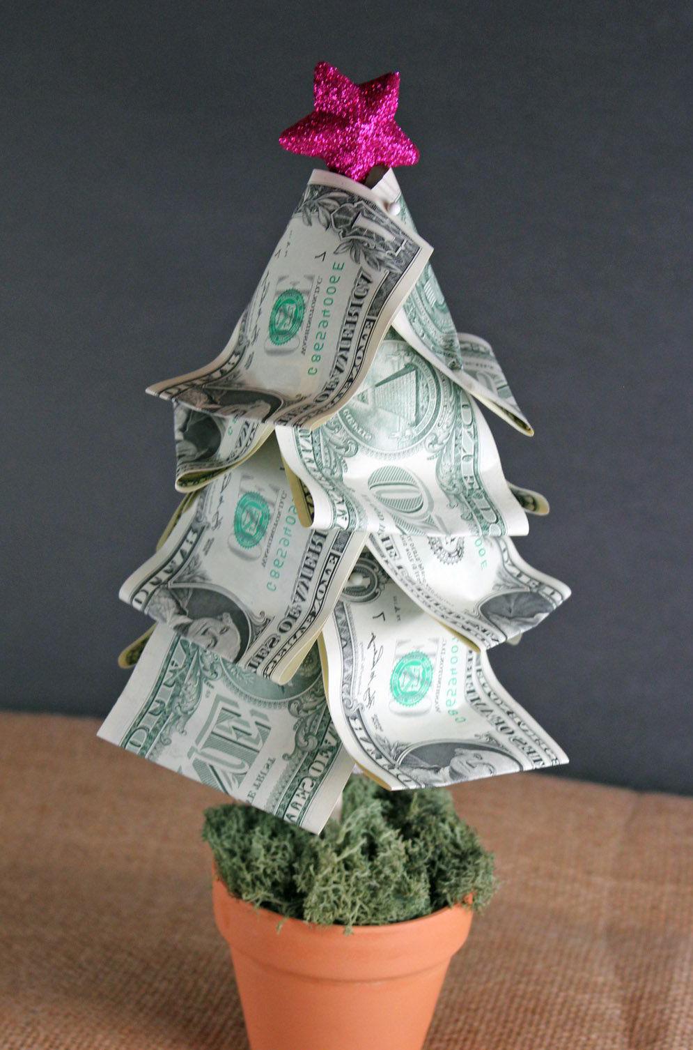 Es ist schon zu spät Geschenke zu kaufen? Hier finden Sie ein paar Ideen für Weihnachtliche Geldgeschenke.