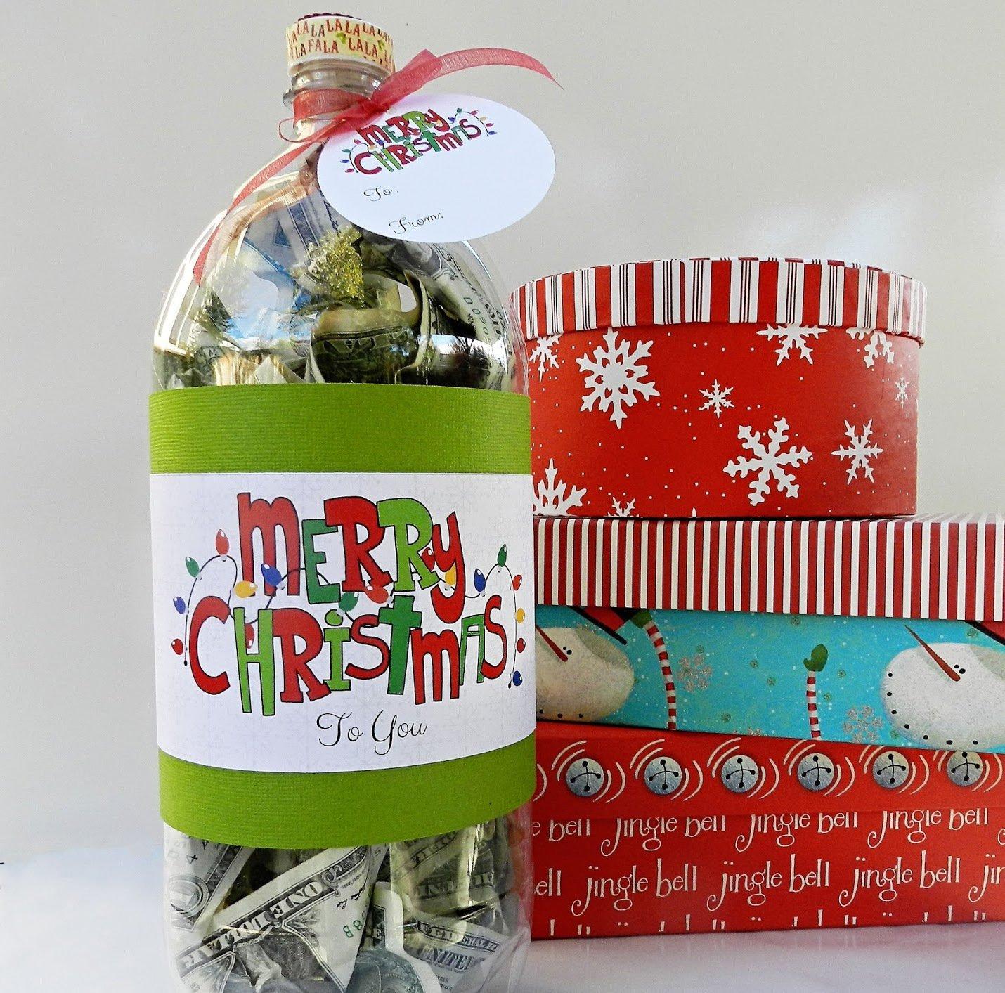 Geldgeschenke weihnachtlich verpacken- die beste Überraschung für Teens und Erwachsene