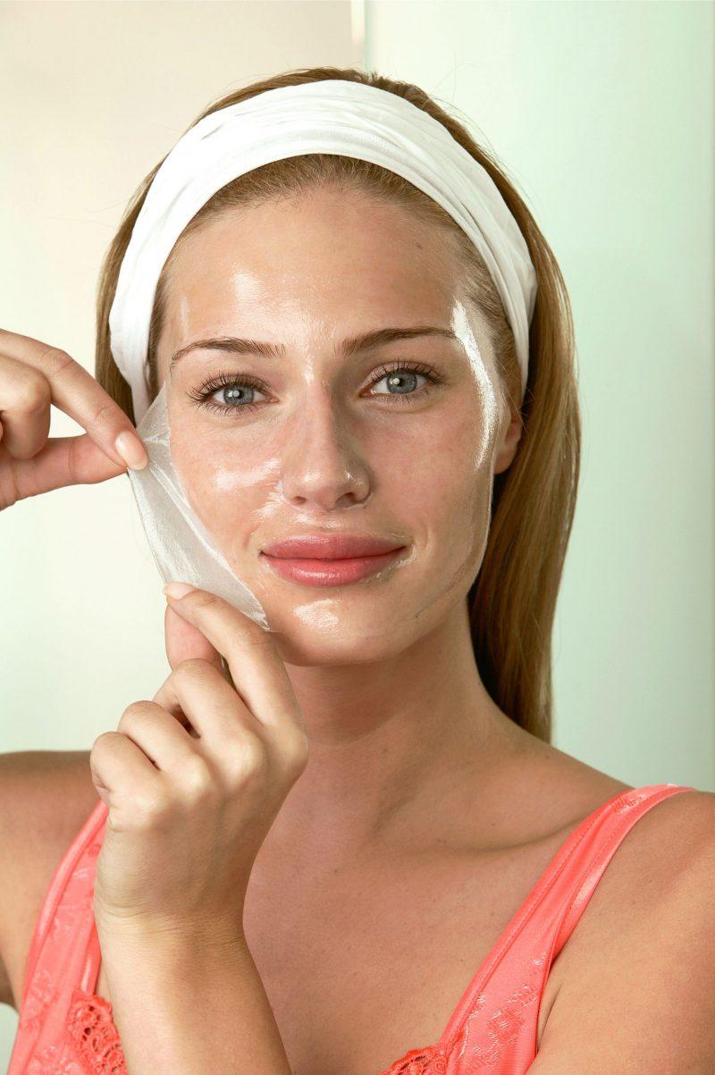 Maske gegen Mitesser Gelatine Rezepte
