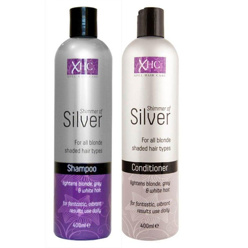 silber Haare färben und pflegen Produkte