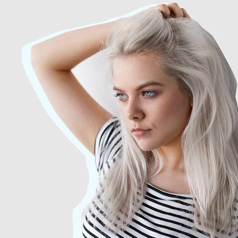 silber Haare färben und richtig pflegen Tipps