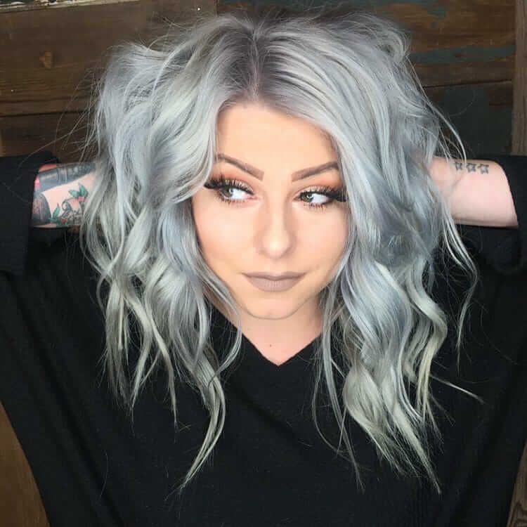 silber Haare färben und richtig pflegen