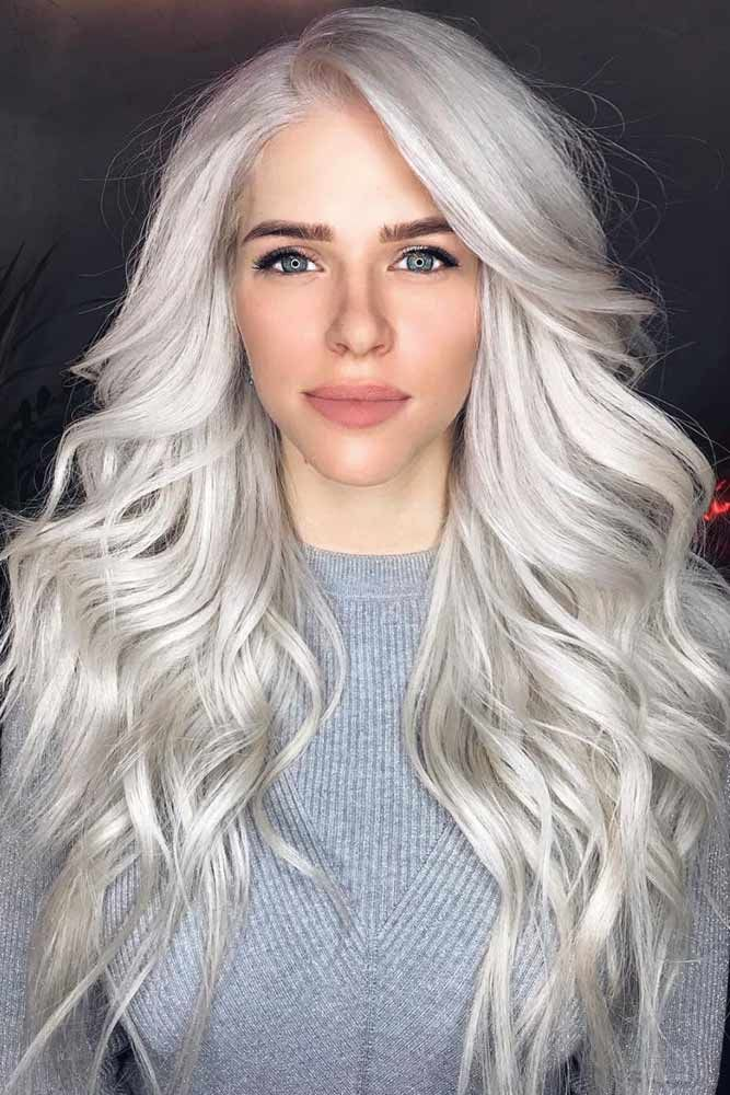 silber Haare färben