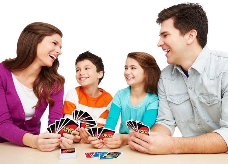 Spiele selber machen z Silvester Karten spielen