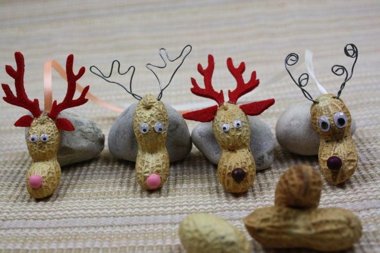 rentier basteln lustige diy ideen zu weihnachten und silvester