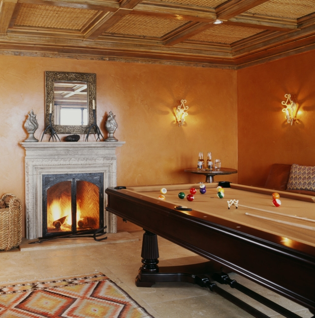 goldene Wandfarbe Spielzimmer