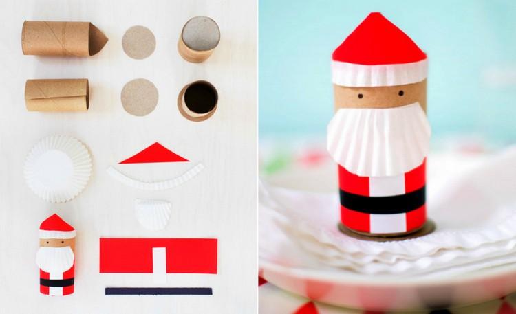 weihnachtsmann basteln mit kindern tolle ideen f r das fest. Black Bedroom Furniture Sets. Home Design Ideas