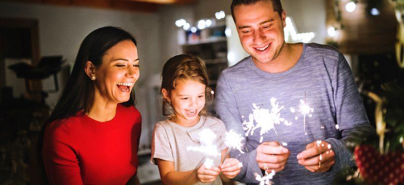 Spiele selber machen für Kinder und Erwachsene Silvester