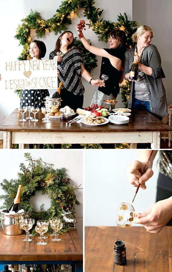 Interessante Partyspiele Silvester mit Trinken