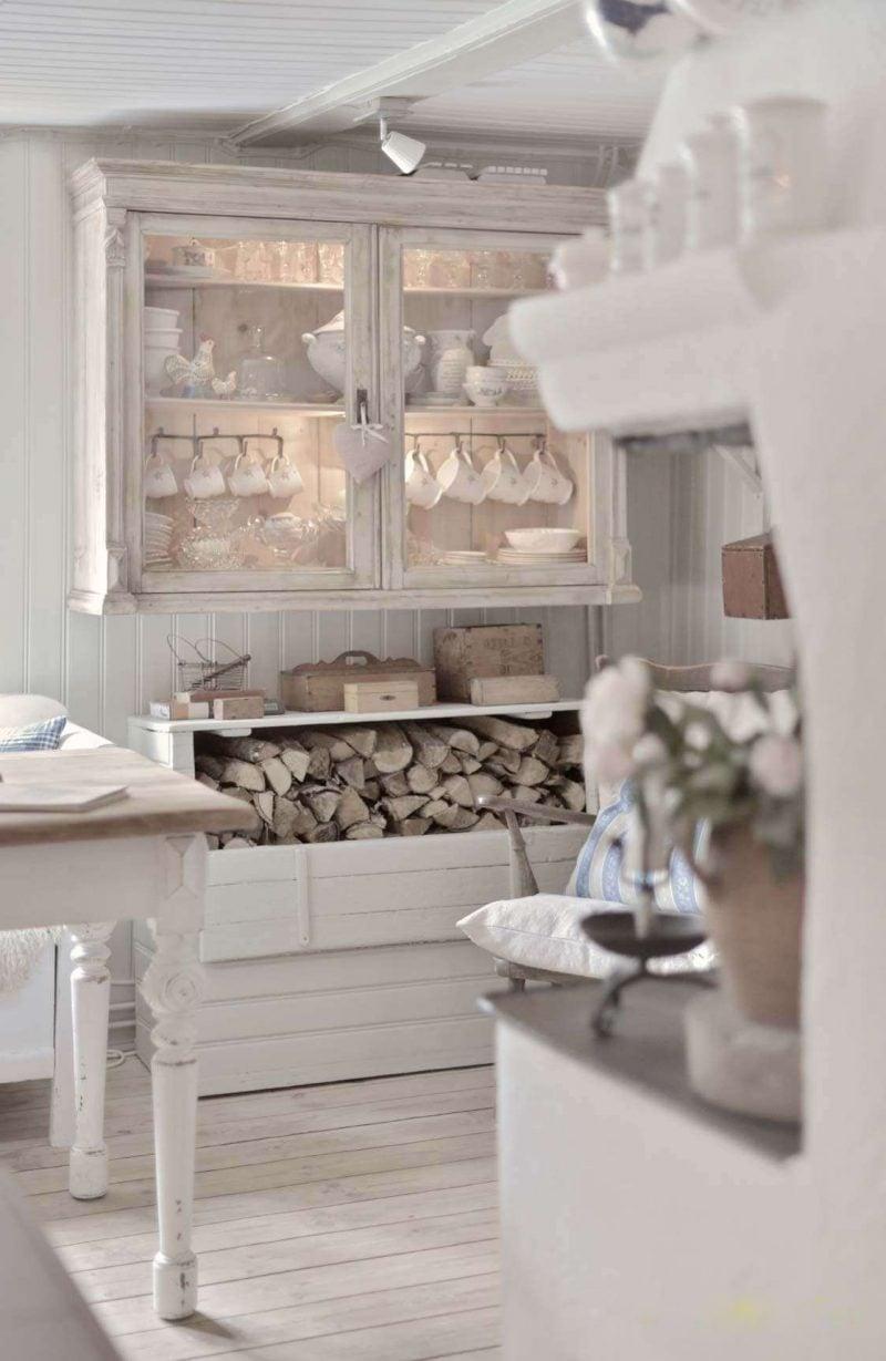 Schabby Küche in weiß ist immer in Trend