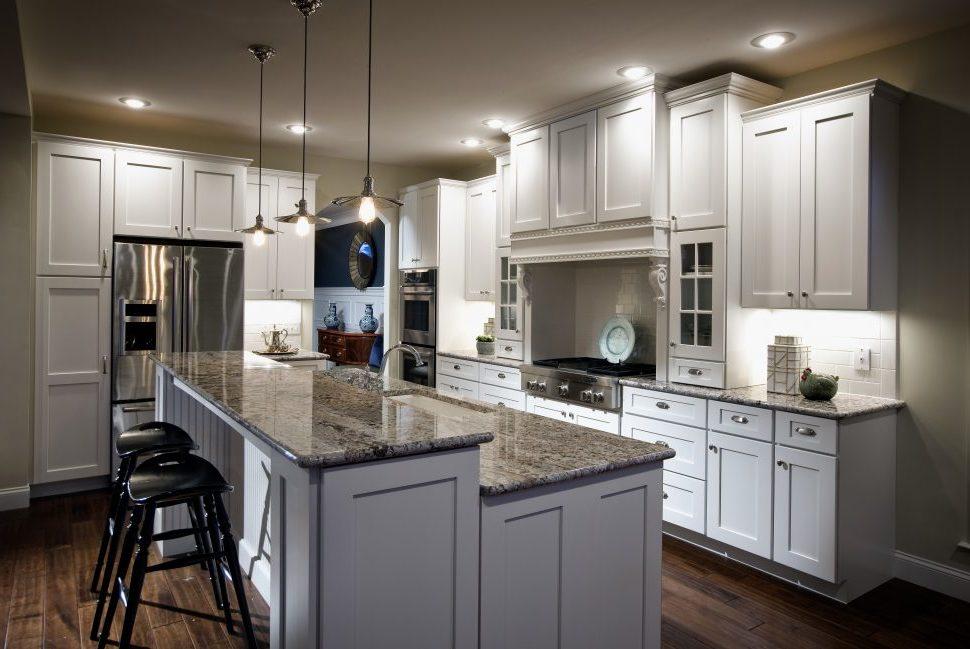 Vielfältige Wohnideen für Elegante Shabby chic Küche