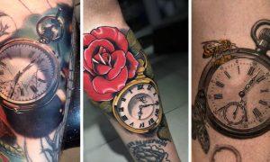 Tattoo Taschenuhr Ideen