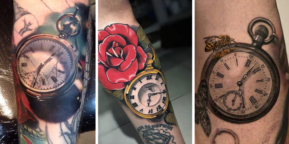 Tattoo Taschenuhr 31 Coole Designs Und Bedeutung Tattoos