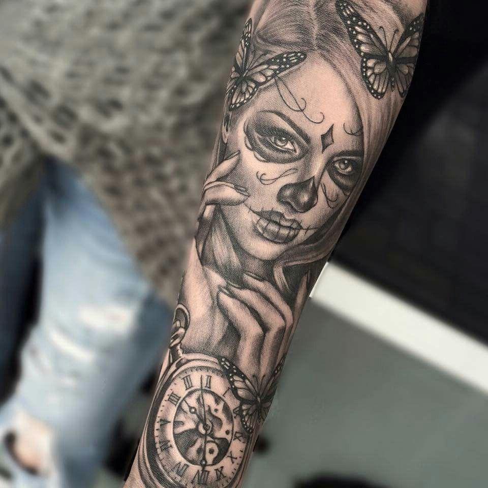 Tattoo Totenkopf Frauen Tattoo Vorlagen