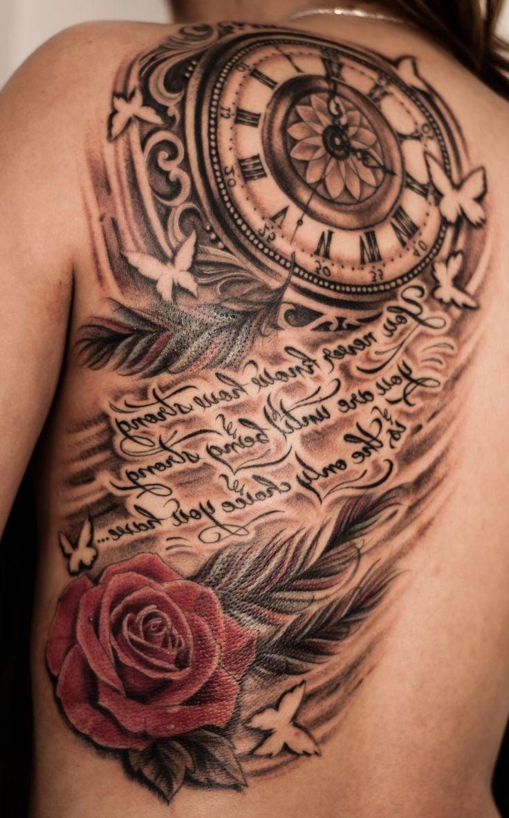 Tattoo Taschenuhr Schriftarten Tattoo Design