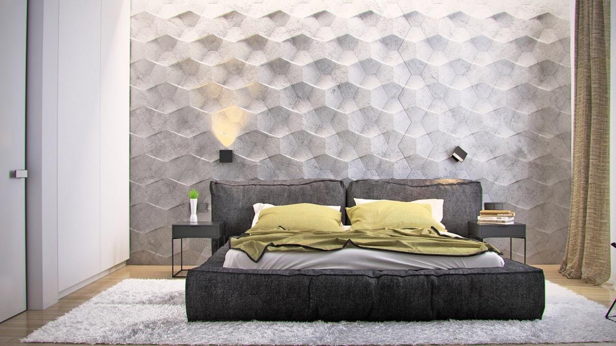 Licht, Schatten und Tiefe für Ihre 3D Wände und futuristische Schlafzimmer Deko