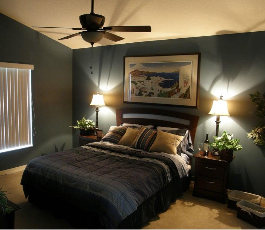 Bilder auf der Wand ist eine klassische Entscheidung für das Deko Ihres Schlafzimmers