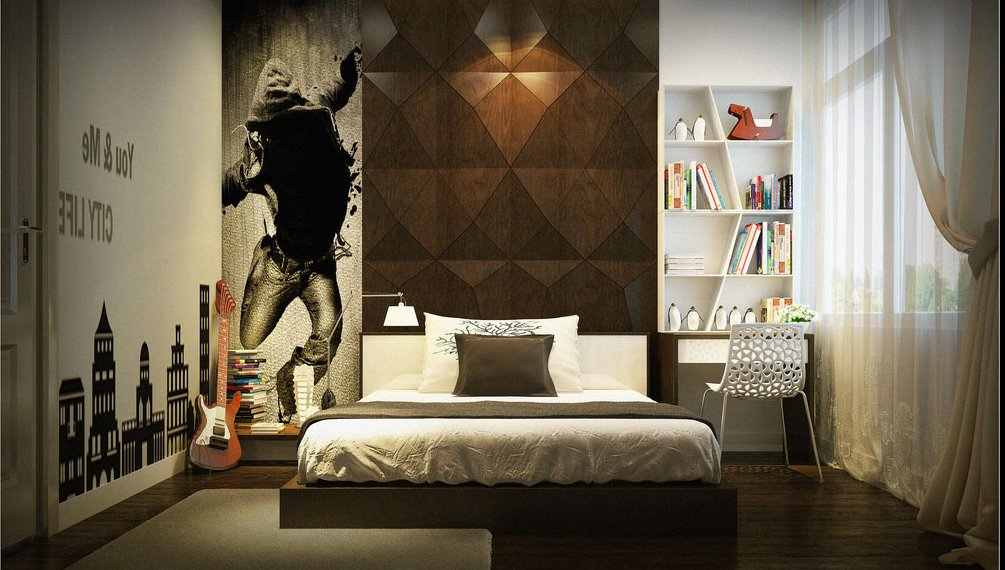 Foto Tapeten ist ein Lieblingsdeko für das Schlafzimmer