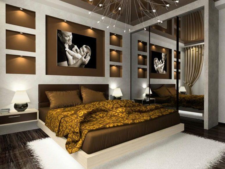 Wandbeleuchtung für das Schlafzimmer: Ideen und Inspirationen