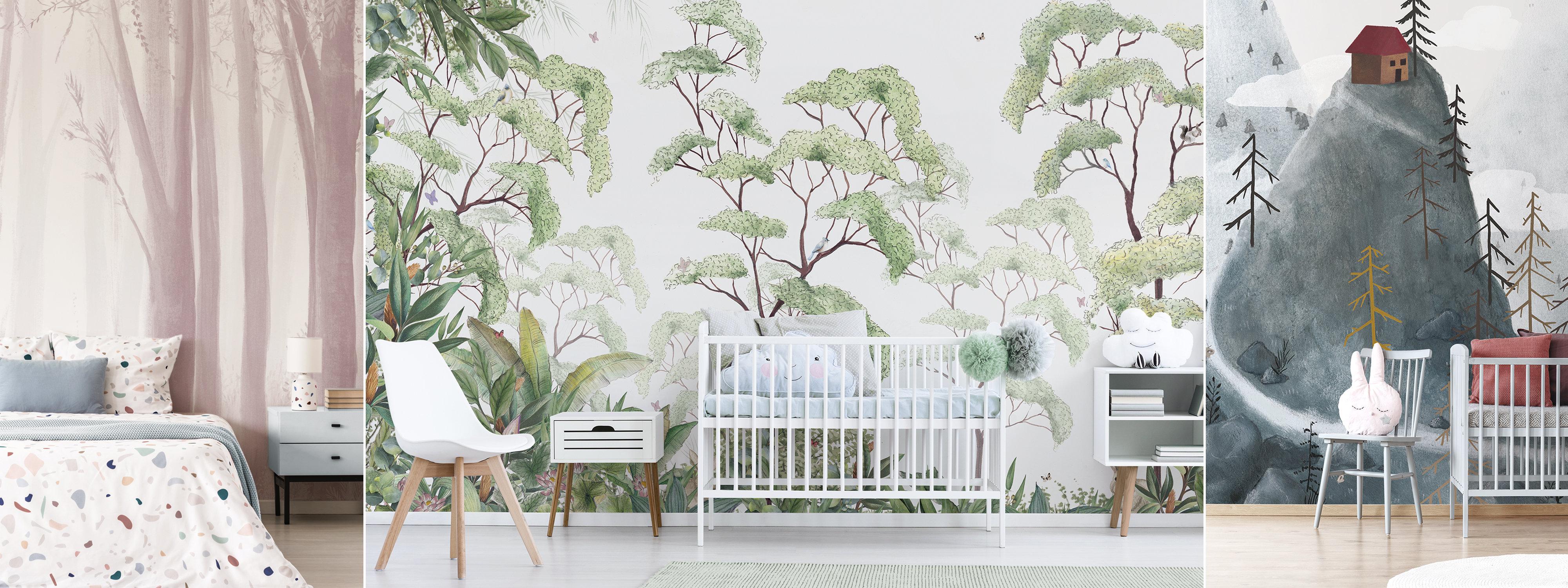 Dekorative Wandtattoos Ideen für das Innendesign