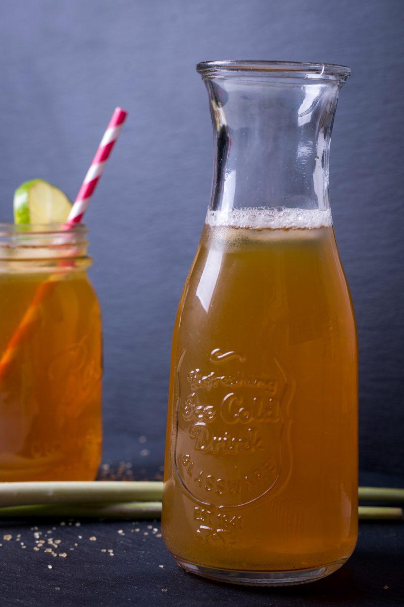 Erfrischungsgetränk Zitronengras Tee