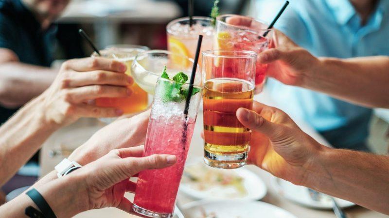 Erfrischungsgetränk für die heißen Sommertage